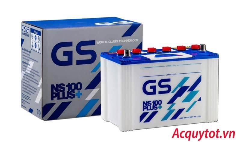 Bảng giá ắc quy GS chính hãng tại Hà Nội năm 2019
