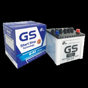 GS Q85 65Ah ( LẮP XE MAZDA ISTOP )